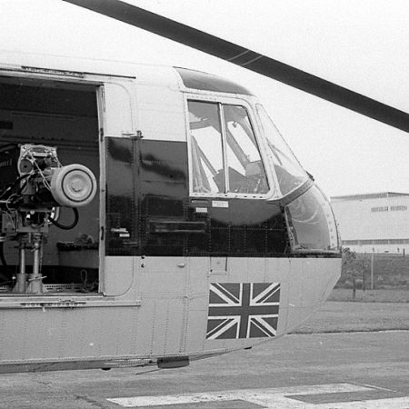 Pye Mk6 Image Orthicon Camera in the Sikorsky Helicopter